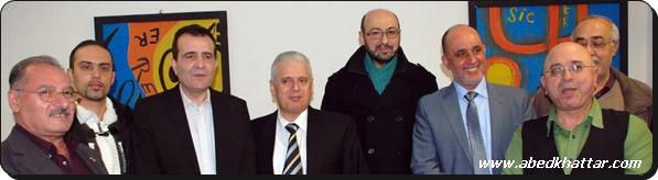أمسية شعرية ولقاء ودي ومحبة لأصدقاء جمعية ابناء اليرموك في المانيا