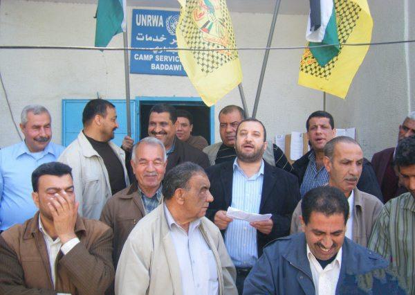 اعتصام تضامني مع الاسرى في مخيم البداوي