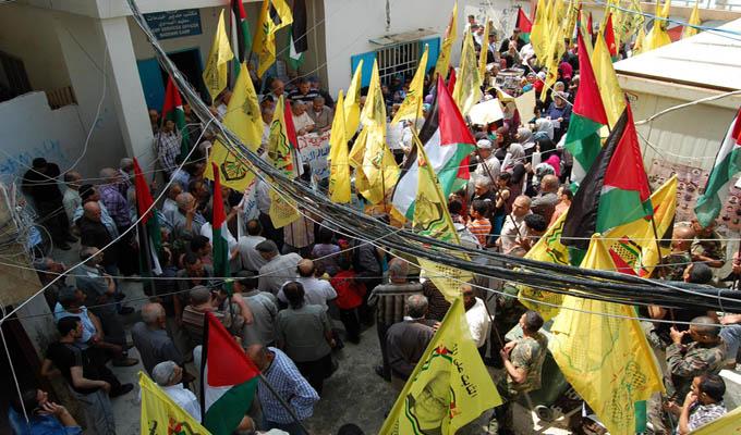 اعتصام في مخيم البداوي دعم وتضامن مع الاسرى الفلسطينيين في سجون الاحتلال