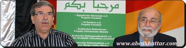الاخ القائد المناضل ابو على شاهين فى لقاء ساخن في برلين