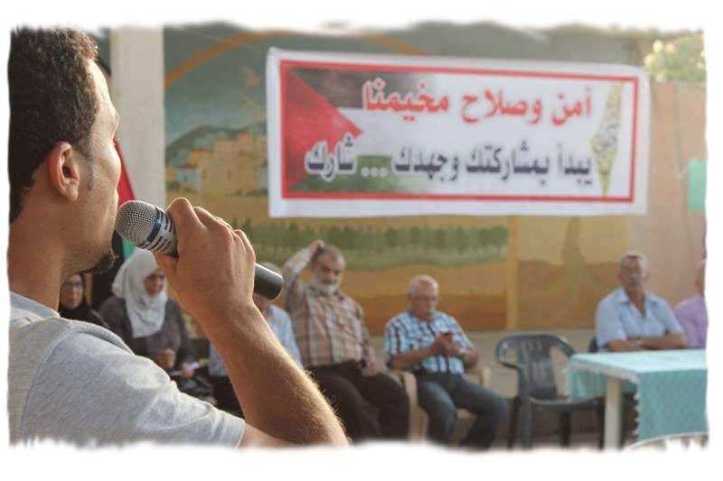 لقاء للأمن المجتمعي في مخيم البداوي / لن نسمح لأحد أن يخرب مخيمنا