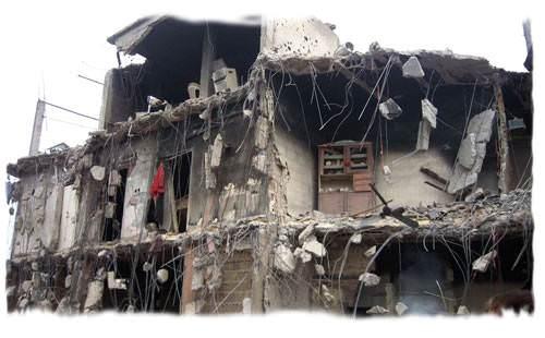 225 مبنى صالحا للسكن في مخيم نهر البارد