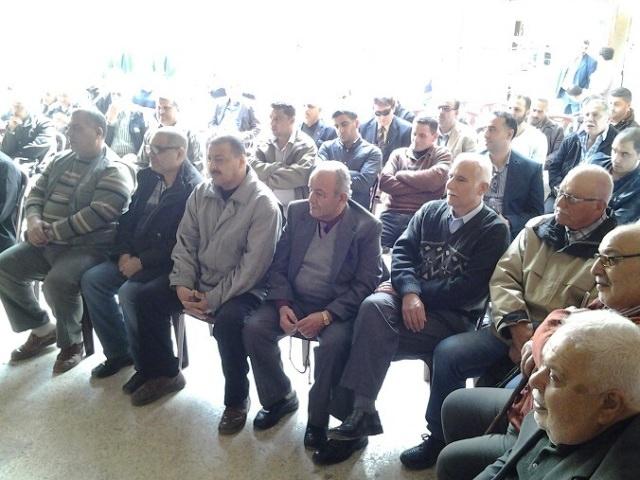 التجمع الديمقراطي يكرم المعلمين في مخيم البداوي