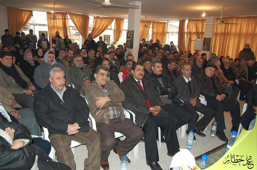 حركة فتح تحيي ذكرى عملية الشهيد كمال عدوان في مخيم البداوي