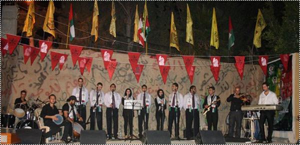 فرقة عشاق الأقصى للأغنية الوطنية تحيي ذكرى النكسة في مخيم برج الشمالي