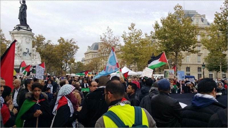 تيار المستقبل يتضامن مع انتفاضة القدس في باريس