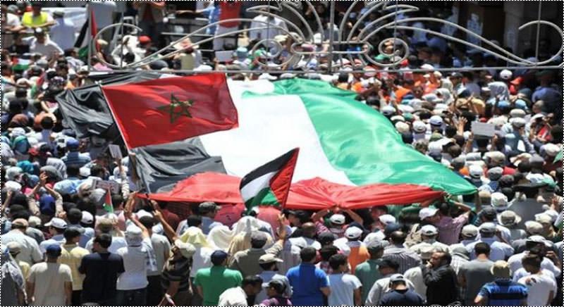 مسيرة في المغرب دعماً لانتفاضة القدس