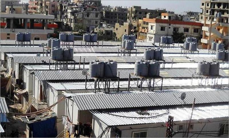 وزارة الصحة تقفل محطات توزيع المياه في مخيم نهر البارد
