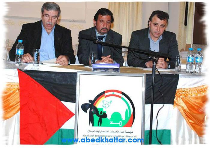 مؤسسة ابناء المخيمات الفلسطينية في لبنان تلتقي ابناء الجالية في برلين