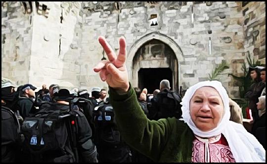 المرأة الفلسطينية ... سيدة العالم