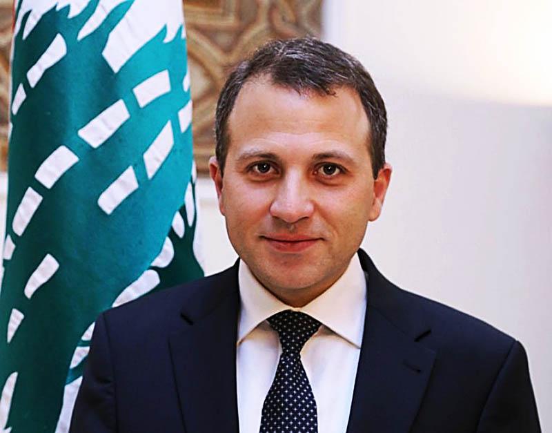 الوزير باسيل / ليس من أولولية لبنان إعمار نهر البارد على أهميته