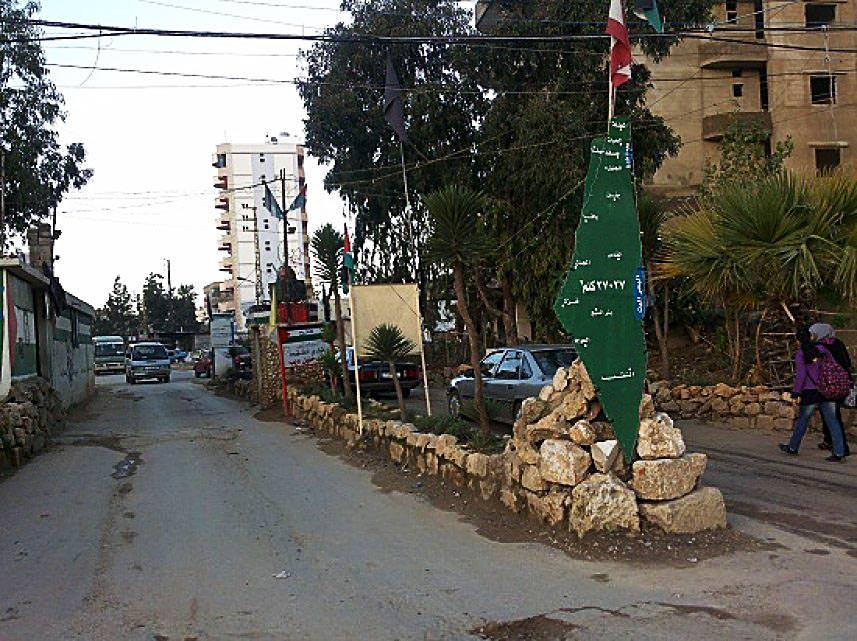 حاجز مشترك على مدخلي مخيم البداوي شمال لبنان