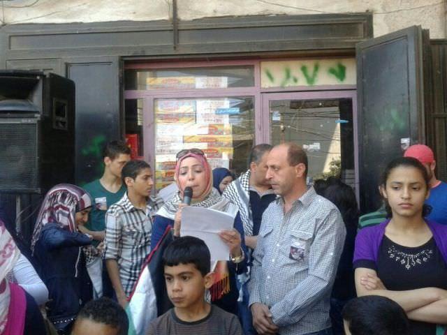 جمعية النجدة الاجتماعية في البداوي تحيي ذكرى النكبة [الـ 66 ]