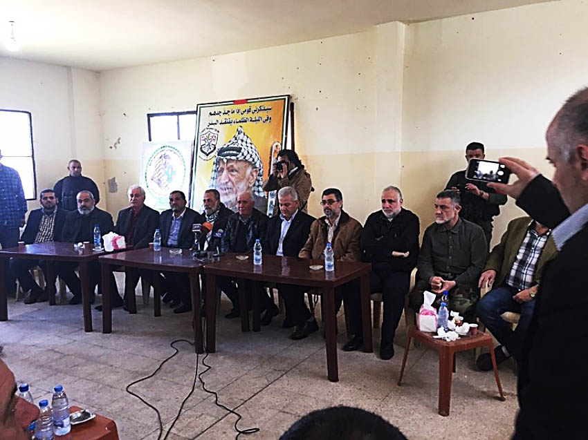 الأمنية في عين الحلوة تشكل لجنة للتواصل مع أهالي المغدورين لتسليم القتلة