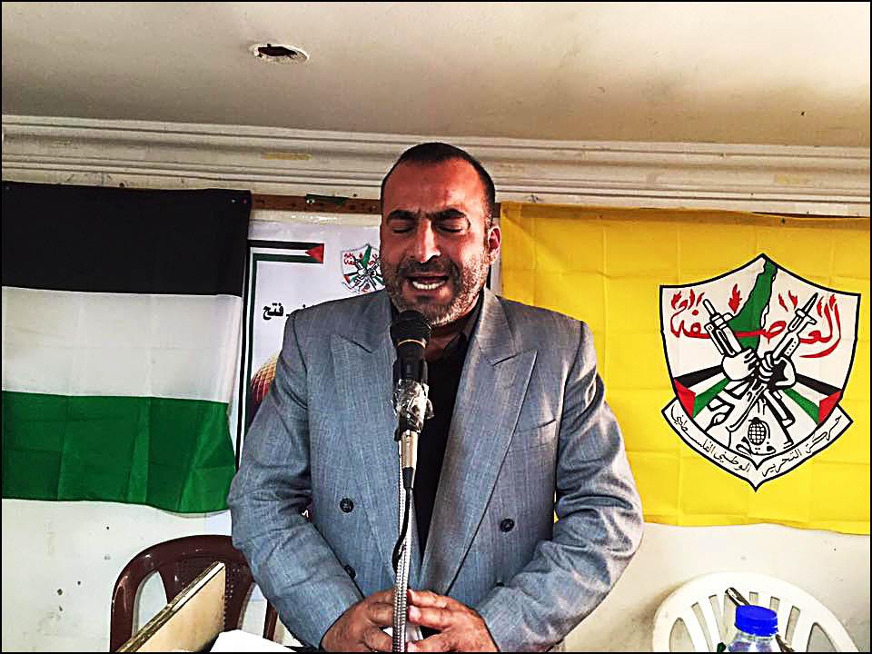 حركة فتح تؤبن الشهيد باسم ظاهر الأسدي في مخيم نهر البارد