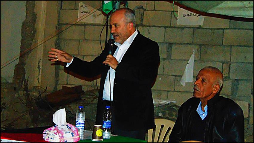 ندوة مسائية في خيمة برج الشمالي || فلسطين معيار العروبة والانسانية