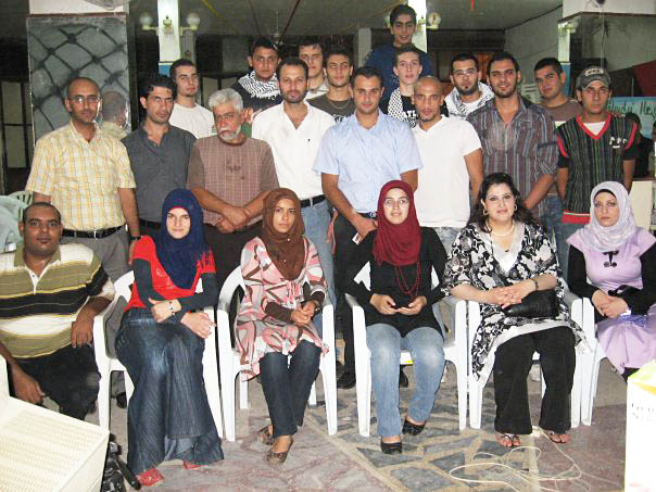 برنامج نشاط النادي الثقافي الفلسطيني العربي في مخيم البداوي لعام 2011