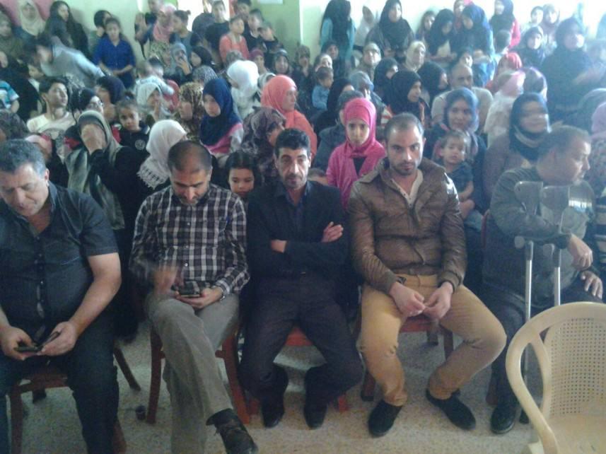 بيت أطفال الصمود تحيي ذكرى يوم الأرض بمهرجان فني في مخيم الرشيدية