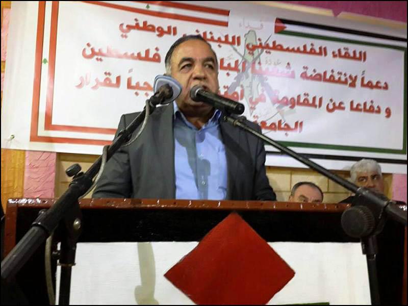 لقاء تضامني في مخيم البداوي دعما للانتفاضة والمقاومة