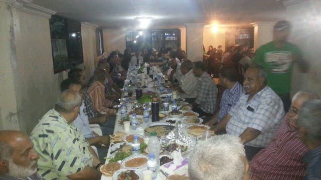 حركة فتح تقيم حفل إفطار لعوائل شهداء الثورة الفلسطينية