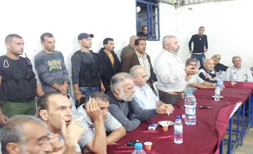 حركة فتح تقيم مصالحة بين أهالي مخيم البداوي ووادي النحلة
