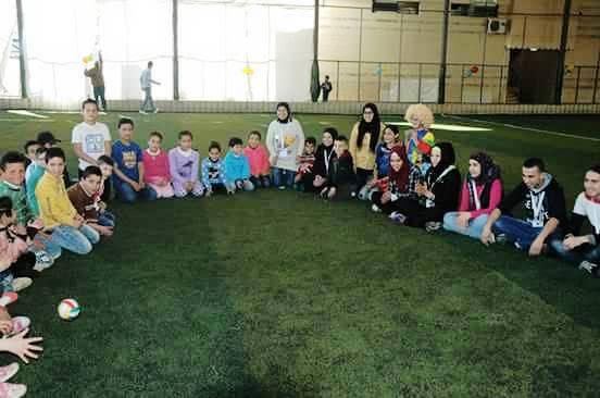 نشاط حول حماية الأطفال في مخيم البداوي
