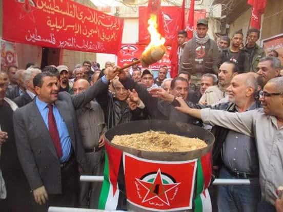 الجبهة الديموقراطية أحيت ذكرى تأسيسها في مخيم البداوي