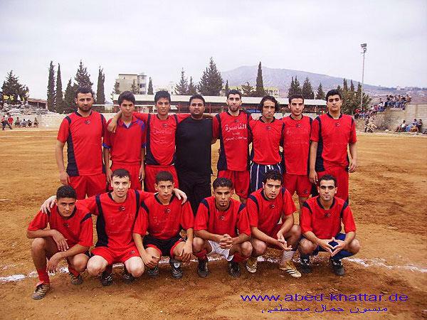 دورة رياضية بكرة القدم بمناسبة الذكرى السادسة لاستشهاد ابو على مصطفى