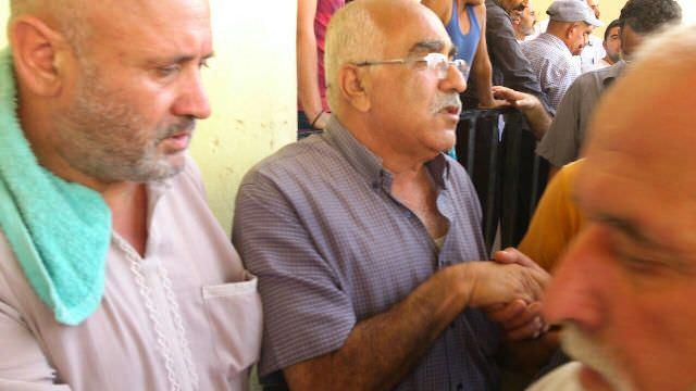 تشييع المرحوم حسين سعيد لوباني أبو هيثم في نهر البارد