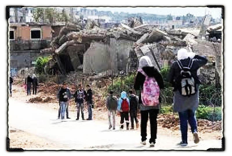 النازحون العائدون || سنعيد البناء لنقيم مخيم العودة الى فلسطين