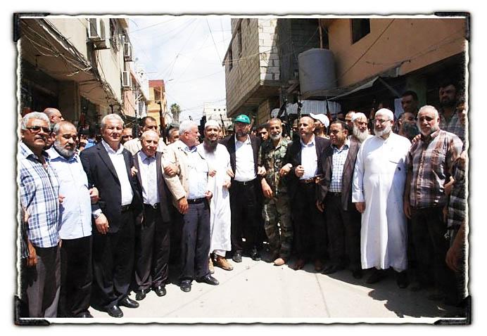 انتشار القوة الأمنية في عين الحلوة.. بإجماع فلسطيني وغطاء لبناني