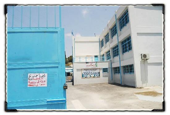 جولة على مدارس الأنروا في مخيم البداوي ومدينة طرابلس