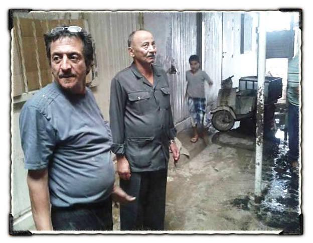 مخيم نهر البارد || أمين سر اللجان الشعبية يتفقد المنازل التي تعرضت للفيضان