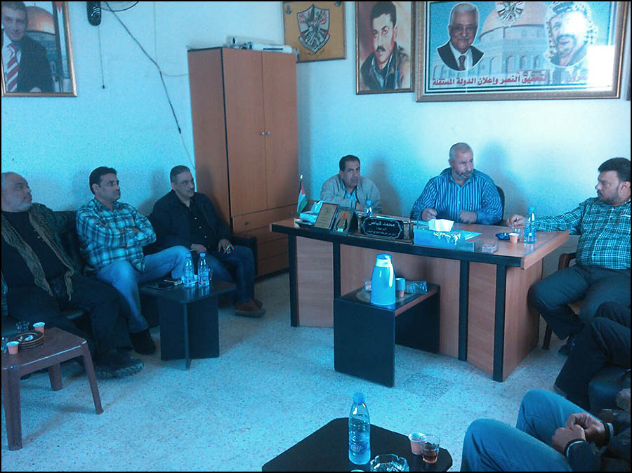 لقاء تشاوري بين حركة فتح والقيادة العامة في مخيم البداوي