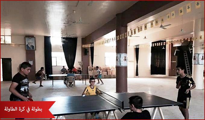 حركة فتح تنظم بطولة في كرة الطاولة لناشئي مخيمي نهر البارد والبداوي