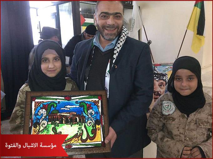 مؤسسة الاشبال والفتوة تقيم حفل افطار في مخيم البداوي