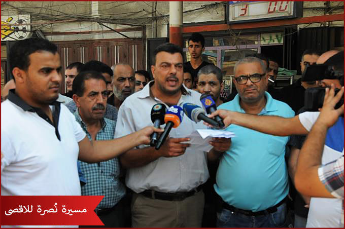 مسيرة نُصرة للاقصى في مخيم البداوي