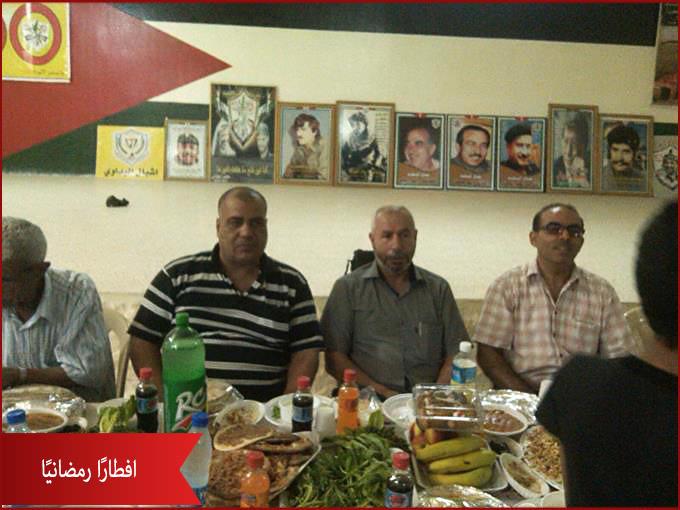 حركة فتح تنظّم افطارًا رمضانيًا في مخيم البداوي