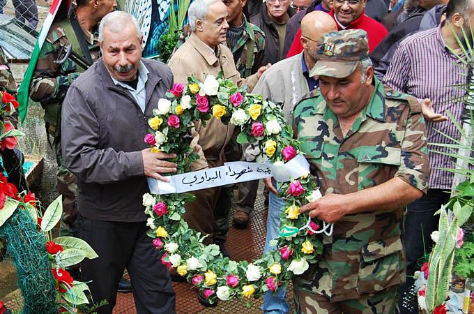 فتح تحيي الذكرى الثامنة لاستشهاد الرئيس أبو عمار في مخيم البداوي