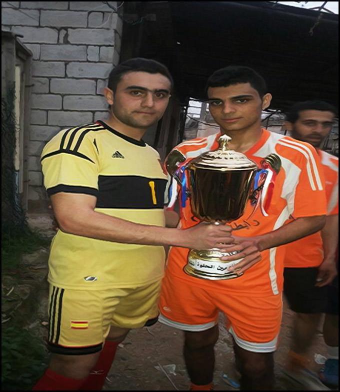 نادي الأنصار بطل كأس شهداء مخيم عين الحلوة