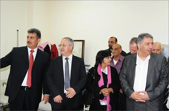 انطلاق العمل في مستوصف الدكتور فتحي عرفات في مخيم البارد