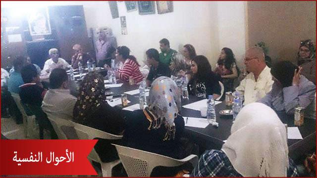 لقاء في البداوي لبحث الأحوال النفسية للعوائل الفلسطينية والنازحين السوريين