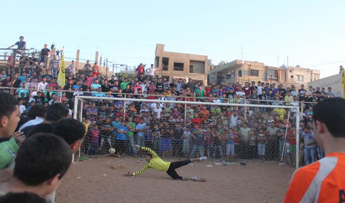 دورة يوم الأسير الفلسطيني في كرة القدم على ملعب الشهيد أبو جهاد الوزير