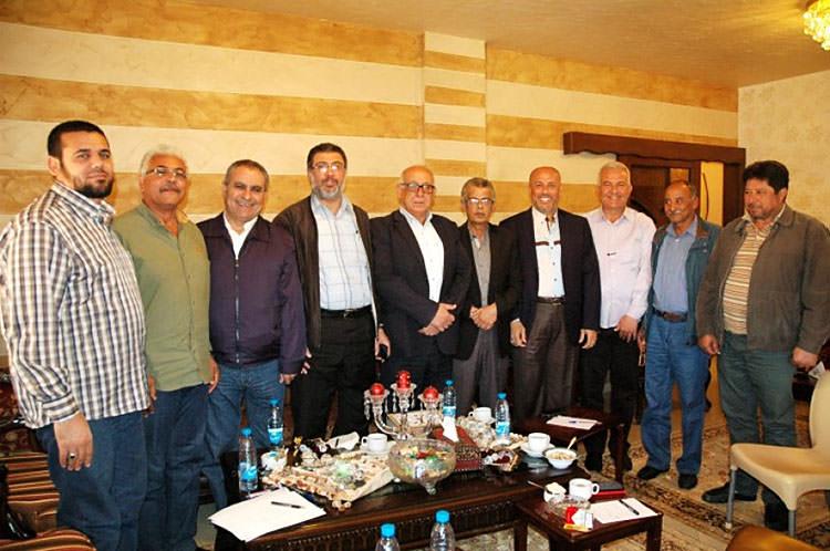 خلية أزمة الأونروا تزور بركة || التأكيد على وحدة الموقف الفلسطيني