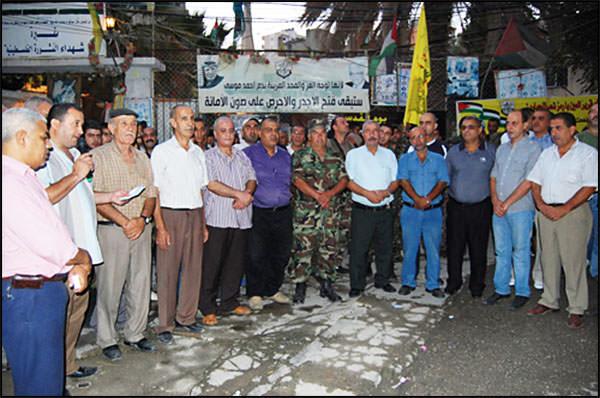 نظمت حركة فتح مسيرة عيد الفطر السعيد في مخيم البداوي