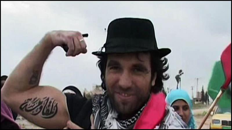 المناضل وناشط السلام الصحفي الايطالي فيتوريو اريغوني