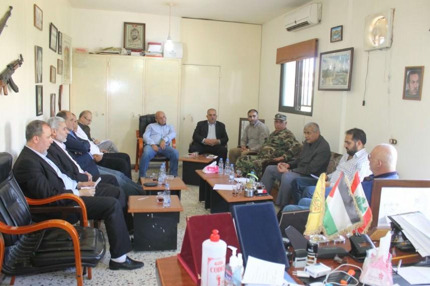 لقاء حاسم لإعادة إطلاق مشروع البنية التحتية في مخيم الرشيدية