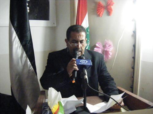 مخيمات الشمال تتضامن مع الاسير الشيخ خضر عدنان