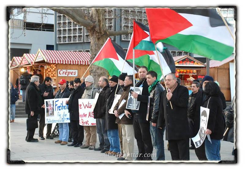 الجمعيات العربية والفلسطينية تتضامن مع الاسير الشيخ خضر عدنان في برلين