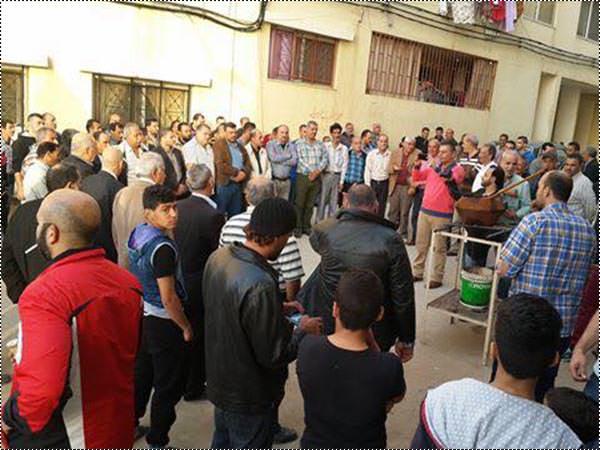 القيادة العامة تضىء شعلة انطلاقتها 51 في مخيم نهر البارد